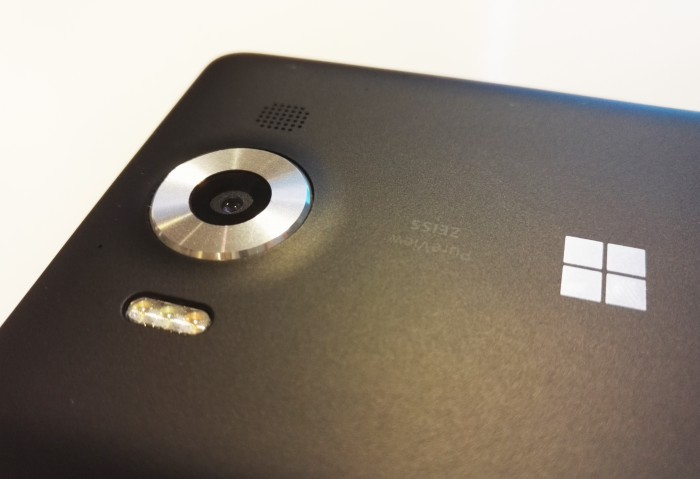 Lumia 950:n kamera