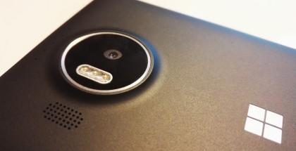 Lumia 950 XL:n kamera.