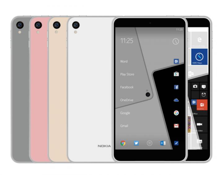 Mallikuvassa väitetty Nokia C1