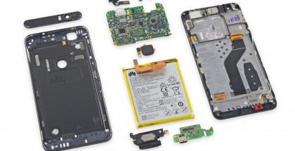 Nexus 6P ifixit purku