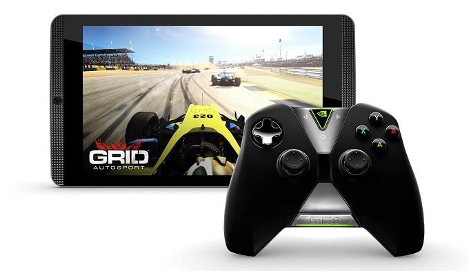 Vanhempi Nvidia SHIELD tablet K1.