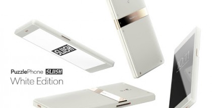 PuzzlePhone Slush White Edition