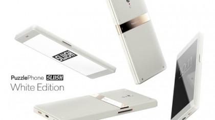 PuzzlePhone Slush White Edition