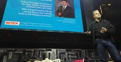 Intex-yhteistyön laajentamisesta kerrottiin Slushissa