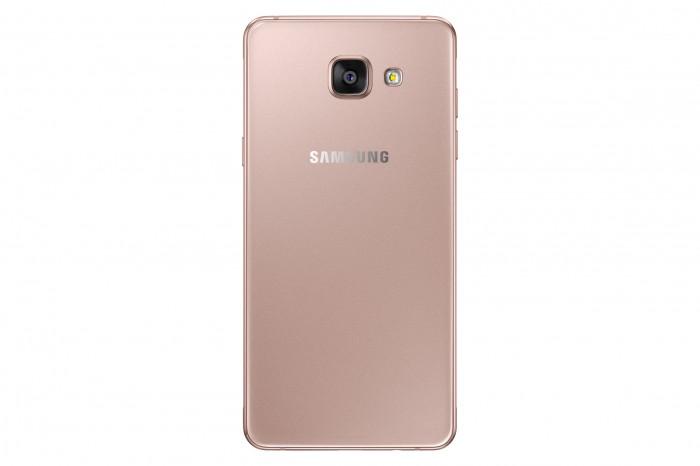 Samsung Galaxy A5 pinkinkultaisena