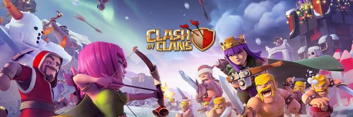 Clash Of Clans talviteema