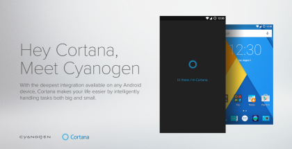 Cyanogen-laitteet saavat Cortanalta erityistä rakkautta