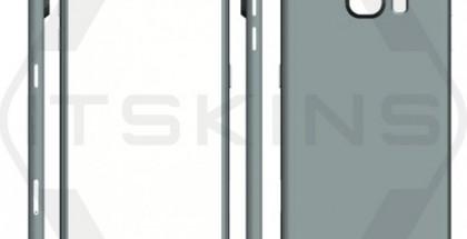 Väitetty tietokonemallinnus Galaxy S/:stä.