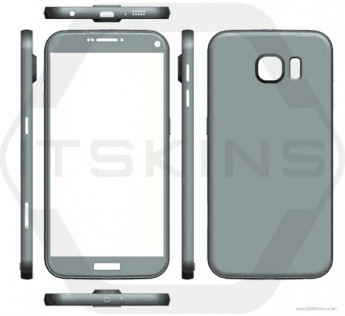 Galaxy S7 render 3