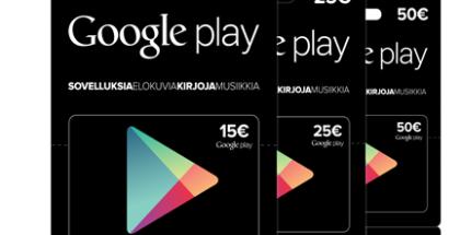 Google Play lahjakortti