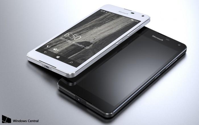 Lumia 650 Windows Centralin julkaisemassa kuvassa