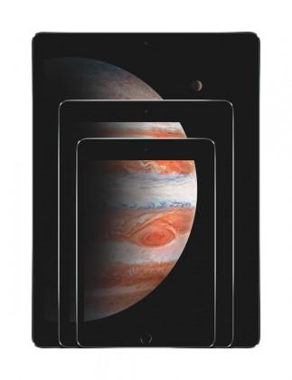iPad Pro, iPad Air 2 ja iPad mini 4.