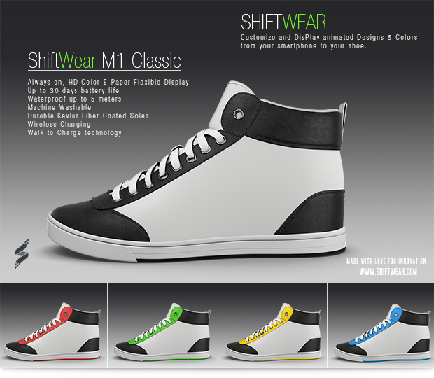 ShiftWear Classic -e-paperikenkä