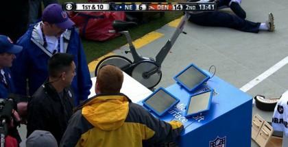 Microsoftin tabletit näyttivät jumittavan NFL-ottalun suorassa TV-lähetyksessä.