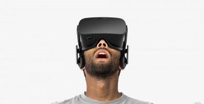 Nykyinen Oculus Rift.