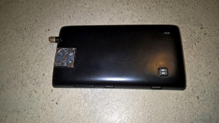 Lumia 520 sai erillisen tuulettimen suorittimelle.