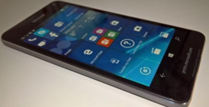 Lumia 650 on nähty aiemmin live-kuvissakin