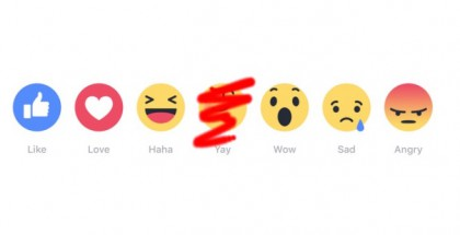 """Facebookin uudet Reaktiot. """"Yay"""" sai testijakson jälkeen lähteä."""