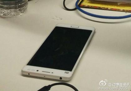 Oletettu Xiaomi Mi 5 vuotokuvassa