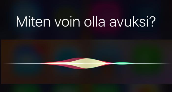 Sirin suomen kielen ymmärrys ja toiminta ovat parantuneet merkittävästi tämän vuoden aikana ja iOS 10:n myötä.