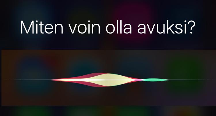 Hei Siri.