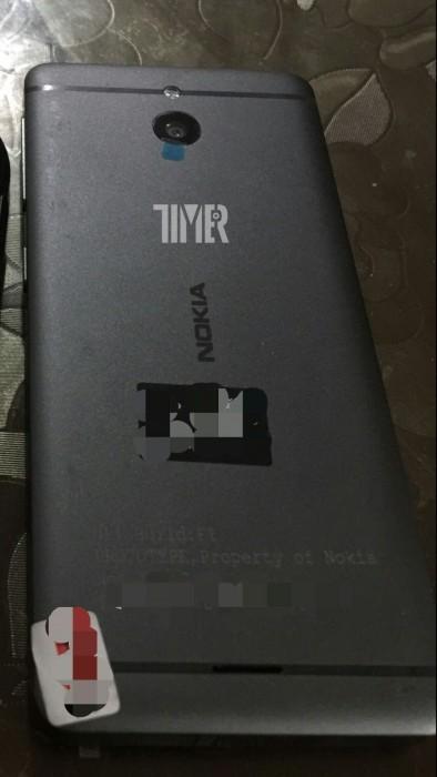 Vuotokuvassa julkaisematon Nokian puhelin.
