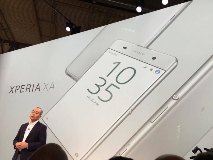 Sony julkisti alkuperäisen Xperia XA:n vuosi sitten.