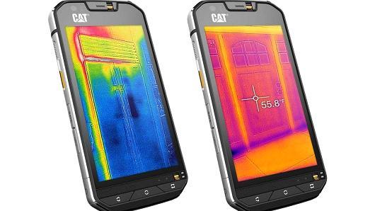 Bullitt Groupin mielenkiintoisimpiin puhelimiin lukeutuu lämpökameralla varustettu Cat S60.