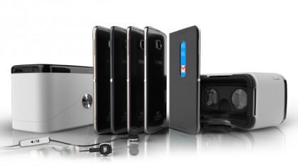 """VR-laatikossa"" tulevat Alcatelin uudet Idol 4 ja Idol 4S -puhelimet."