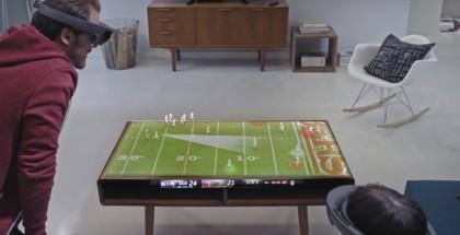 Super Bowl -kotikatsomo Microsoft HoloLens -konseptivideolla