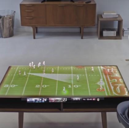 Videolla: Näin urheilu saattaa vallata olohuoneesi tulevaisuudessa