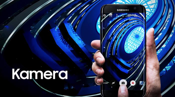 Samsung Galaxy S7 edge kamera.