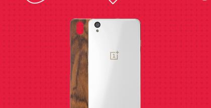 OnePlus X rosewood alennus