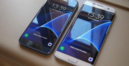 Samsung Galaxy S7 ja Galaxy S7 edge.