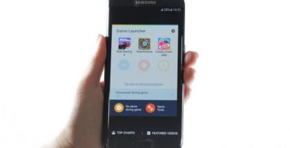 Samsungin Game Launcher.