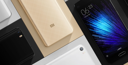 Xiaomi Mi 5s seuraisi tässä kuvassa nähtävää Xiaomi Mi 5:tä.