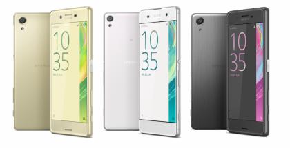 Sonyn tämän vuoden uutuuksia ovat olleet Xperia X, XA ja X Performance.