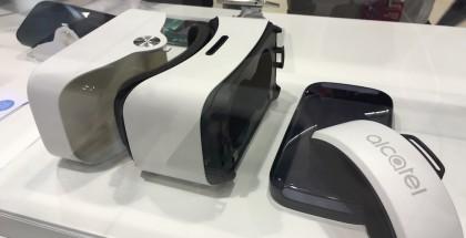 Alcatelin puhelimen myyntipakkaus onkin VR-silmikko.