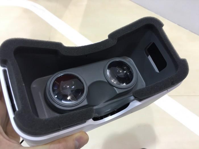 Alcatelin VR-myyntipakkauksesta silmikko.