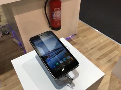 Bittium oli esittelemässä Tough Mobileaan myös alkuvuonna Mobile World Congressissa Barcelonassa.