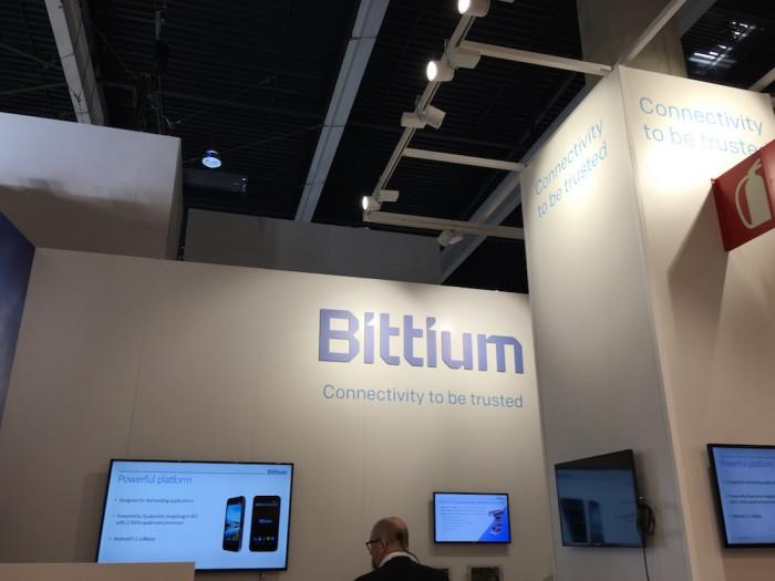Bittium on läsnä MWC:ssä omalla osastollaan muiden suomalaisten lähettyvillä