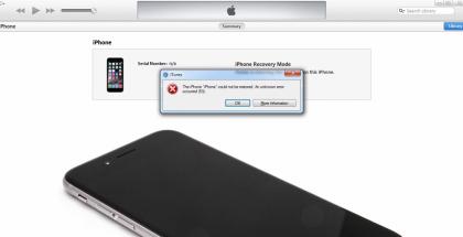 """Vikailmoitus """"Error 53"""" tekee iPhonesta kerralla käyttökelvottoman."""