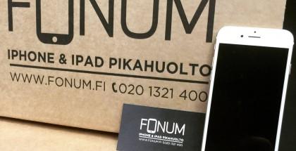 Fonum on keskittynyt ensisijaisesti iPhone- ja iPad-korjauksiin
