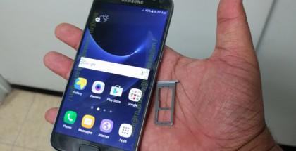 Samsung Galaxy S7 vuotokuvassa.