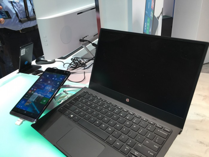 HP Elite x3 ja Lap Dock.