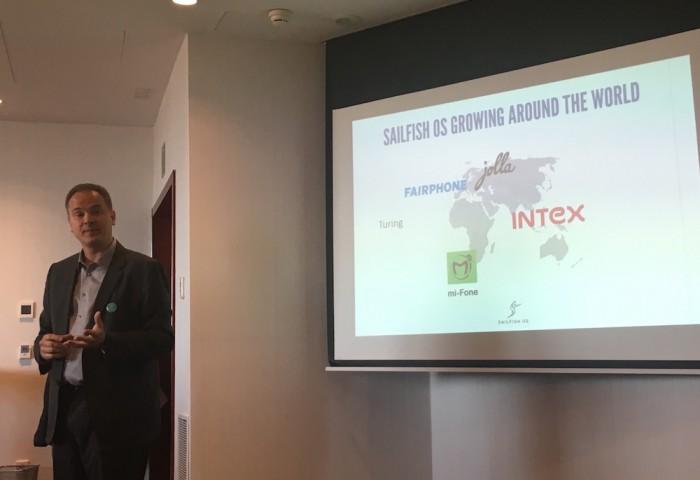 Jolla haluaa laajentaa Sailfishin maailmalle alue kerrallaan. Intiassa kumppani on Intex, Afrikassa mi-Fone.