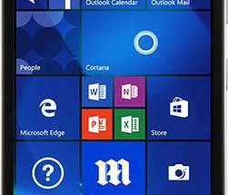 Lumia 650 Evan Blassin vuotamassa kuvassa
