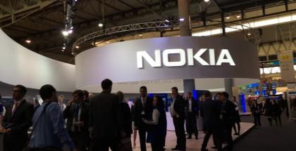 Nokian osasto MWC:ssä 2016.