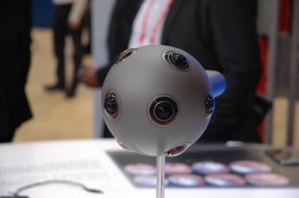 Nokian OZO-virtuaalitodellisuuskamera.