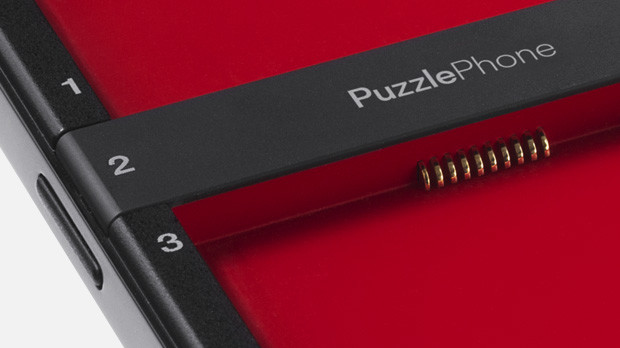 Eri osien liittyminen yhteen luotettavalla ja kestävällä tavalla on suurin haaste PuzzlePhonen kehityksessä